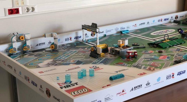 We support FIRST LEGO LEAGUE Girona tournament – IQUA Robotics